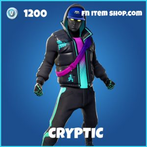 cryptic rare fortnite skin