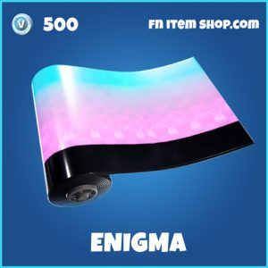 Enigma rare fortnite wrap