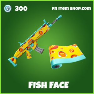 Fish face uncommon fortnite wrap
