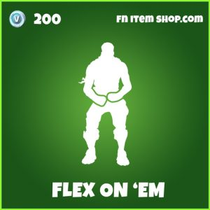 Flex On 'Em uncommon fortnite emote