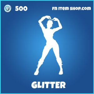 Glitter rare fortnite emote