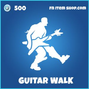 Guitar Walk rare fortnite emote