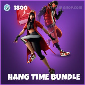 Hang Time Bundle fortnite jordan skins