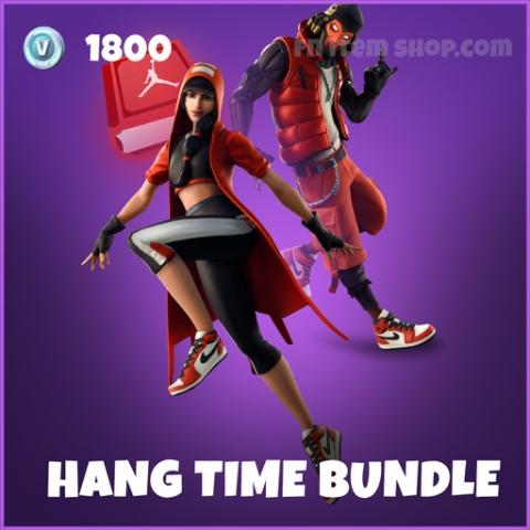 Hang Time Bundle fortnite jordan skins