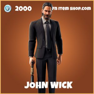 John wick legenary fortnite skin