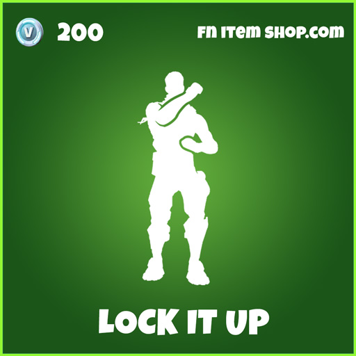 Lock it up uncommon fortnite emote