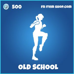 Old School rare fortntie emote