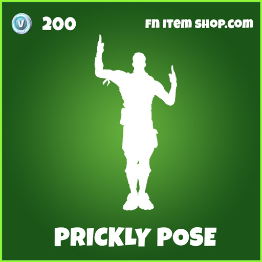 prickly pose uncommon fortnite skin