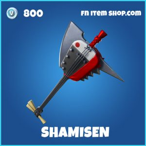Shamisen rare fortnite pickaxe