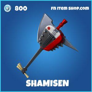 Shamisen rare fortnite pickaxe