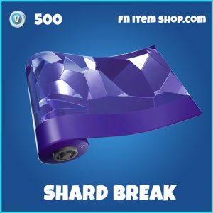 Shard break rare fortnite wrap