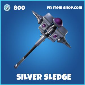 Silver Sledge rare fortnite pickaxe