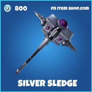 Silver Sledge rare fortnite pickaxe