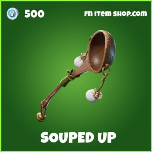 Souped Up uncommon fortnite pickaxe