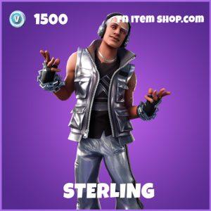 Sterling epic fortnite skin