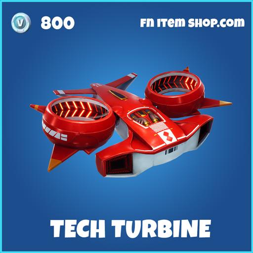 Tech Turbine rare fortnite glider