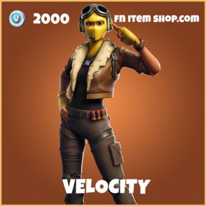 Velocity legendary fortnite skin