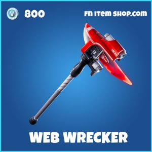 Web wrecker rare fortnite pickaxe