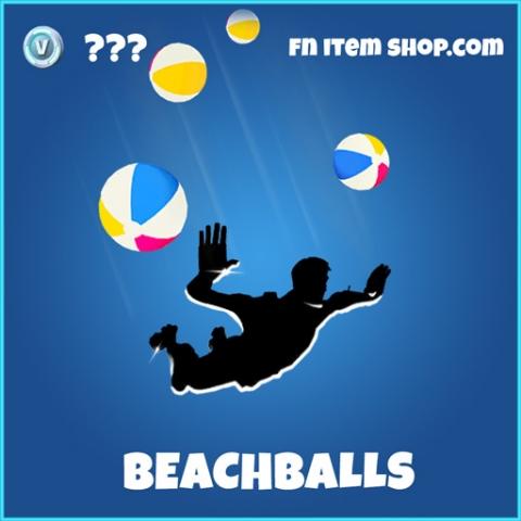Beachballs rare fortnite trail