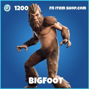 Bigfoot rare fortnite skin