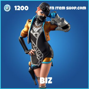 Biz rare fortnite skin