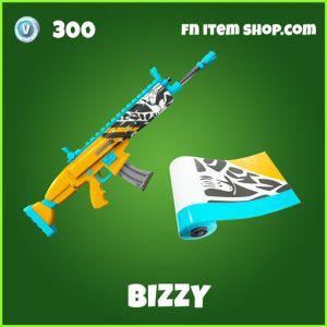 Bizzy uncommon fortnite wrap
