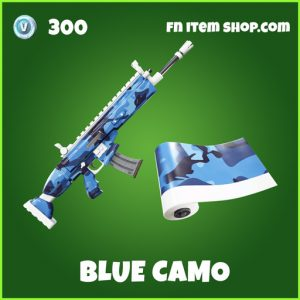 Blue camo uncommon fortnite wrap