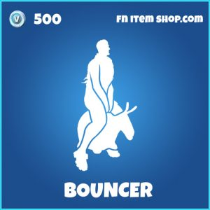 bouncer rare fortnite emote