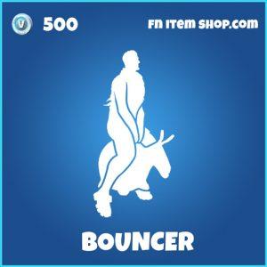 bouncer rare fortnite emote