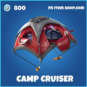 camp cruiser rare fortnite glider