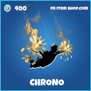 Chrono fortnite rare trail