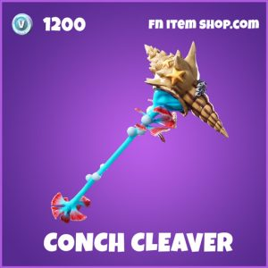conch cleaver epic fortnite pickaxe