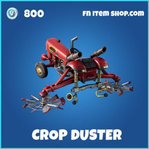 crop duster rare fortnite glider