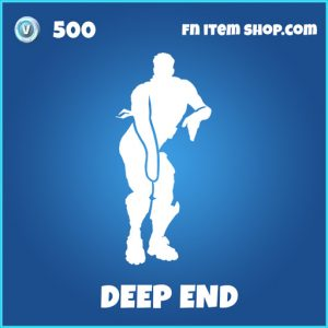 Deep End rare fortnite emote