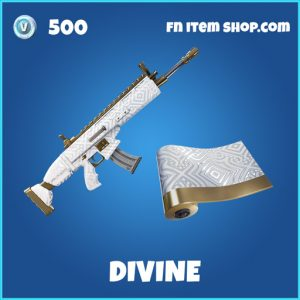 Divine rare wrap fortnite