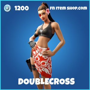 Doublecross rare fortnite skin
