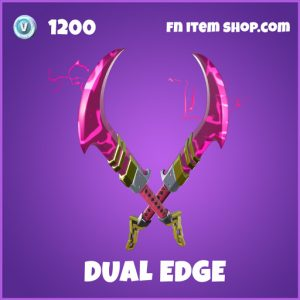 dual edge epic fortnite pickaxe