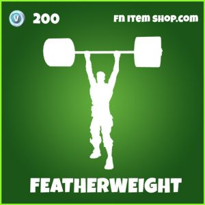 featherweight uncommon fortnite emote