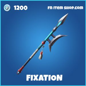 fixation rare fortnite pickaxe