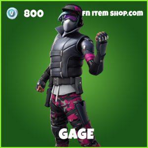 gage uncommon fortnite skin