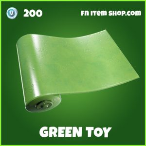 Green Toy uncommon fortnite wrap