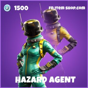 hazard agent epic fortnite skins
