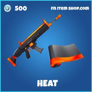 Heat rare fortnite wrap