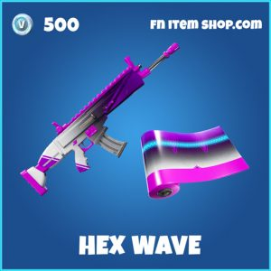 Hex wave rare fortnite wrap