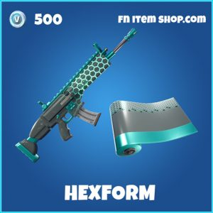 Hexform rare fortnite wrap