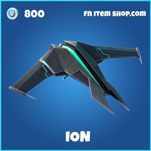 ion rare fortnite glider
