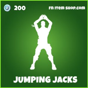 jumping jacks uncommon fortnite emote