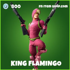 King Flamingo uncommon fortnite skin