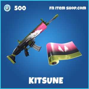 kitsune rare fortnite wrap