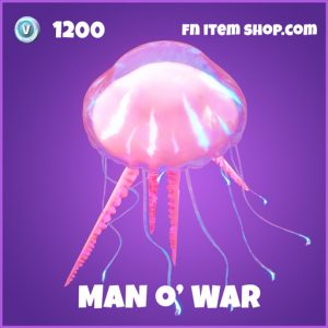 Man O war epic fortnite glider